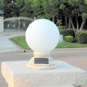 Solar 9-Light Fence Post Cap