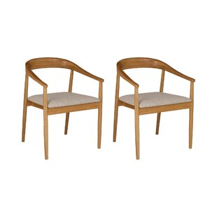 Attirant Evert Carver Solid Wood Dining Chair (Set Of 2)
