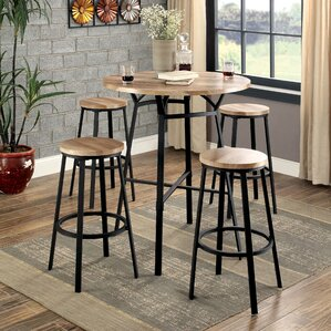 Montrose 5 Piece Pub Table Set by Andover Mills