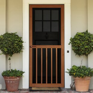 Exceptionnel 5 Panel Wood Exterior Door
