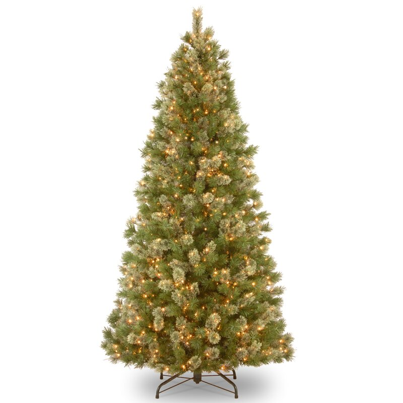 National Tree Co Wispy Willow 9' Green Artificial Christmas Tree  - Wispy Willow Christmas Tree