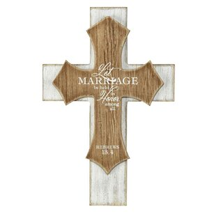 Distressed Cross Wall Décor