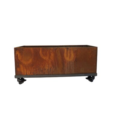 17 Stories Elisabetta Corten Steel Planter Box