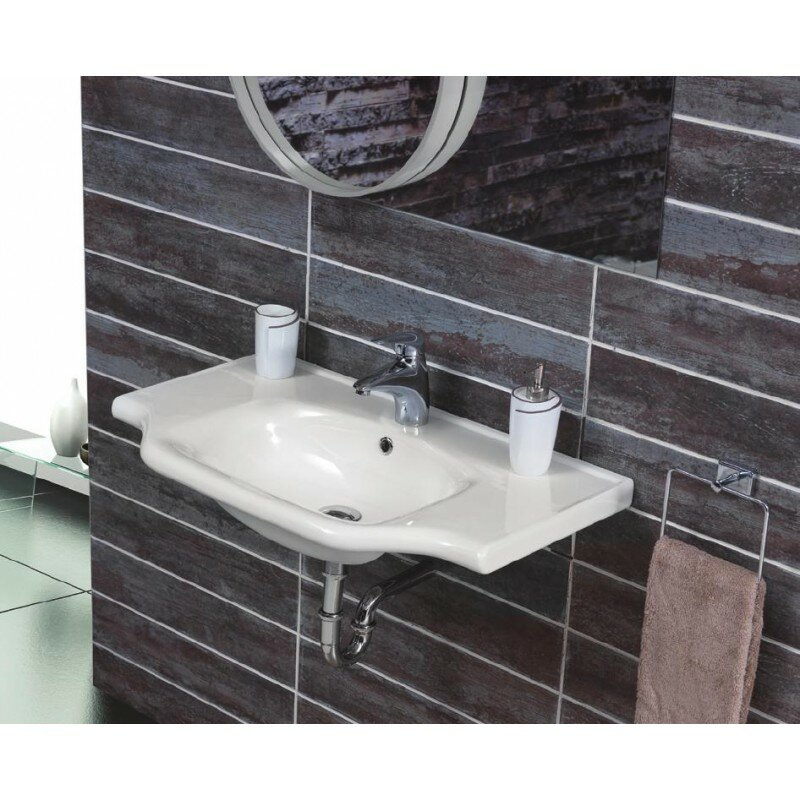 "cerastylenameeks yeni klasik ceramic 26"" wall mounted bathroom"