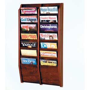 Wall Magazine Racks Youll Love Wayfair