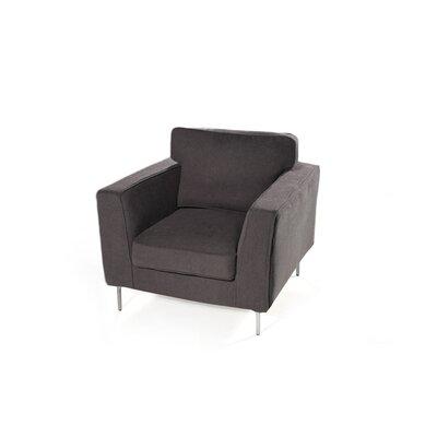 Brayden Studio Flanagan Armchair Upholstery: Ash Grey