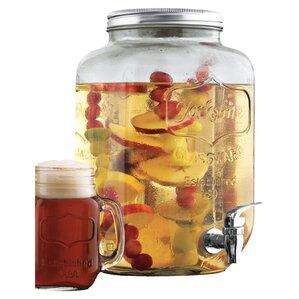Cynthia Mason Jar Beverage Dispenser