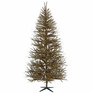 3 greenbrown pine trees artificial christmas tree - Charlie Brown Artificial Christmas Tree