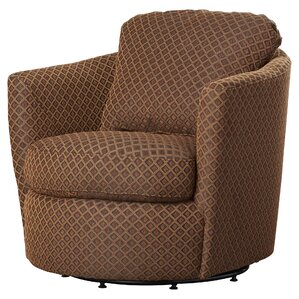Messina Diamond Barrel Chair by Andover Mills