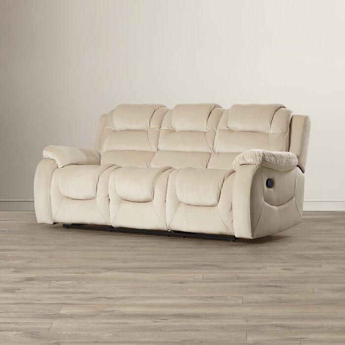red barrel studio staas dual reclining sofa reviews wayfair rh wayfair com dual recliner sofa dual recliner sofa with console