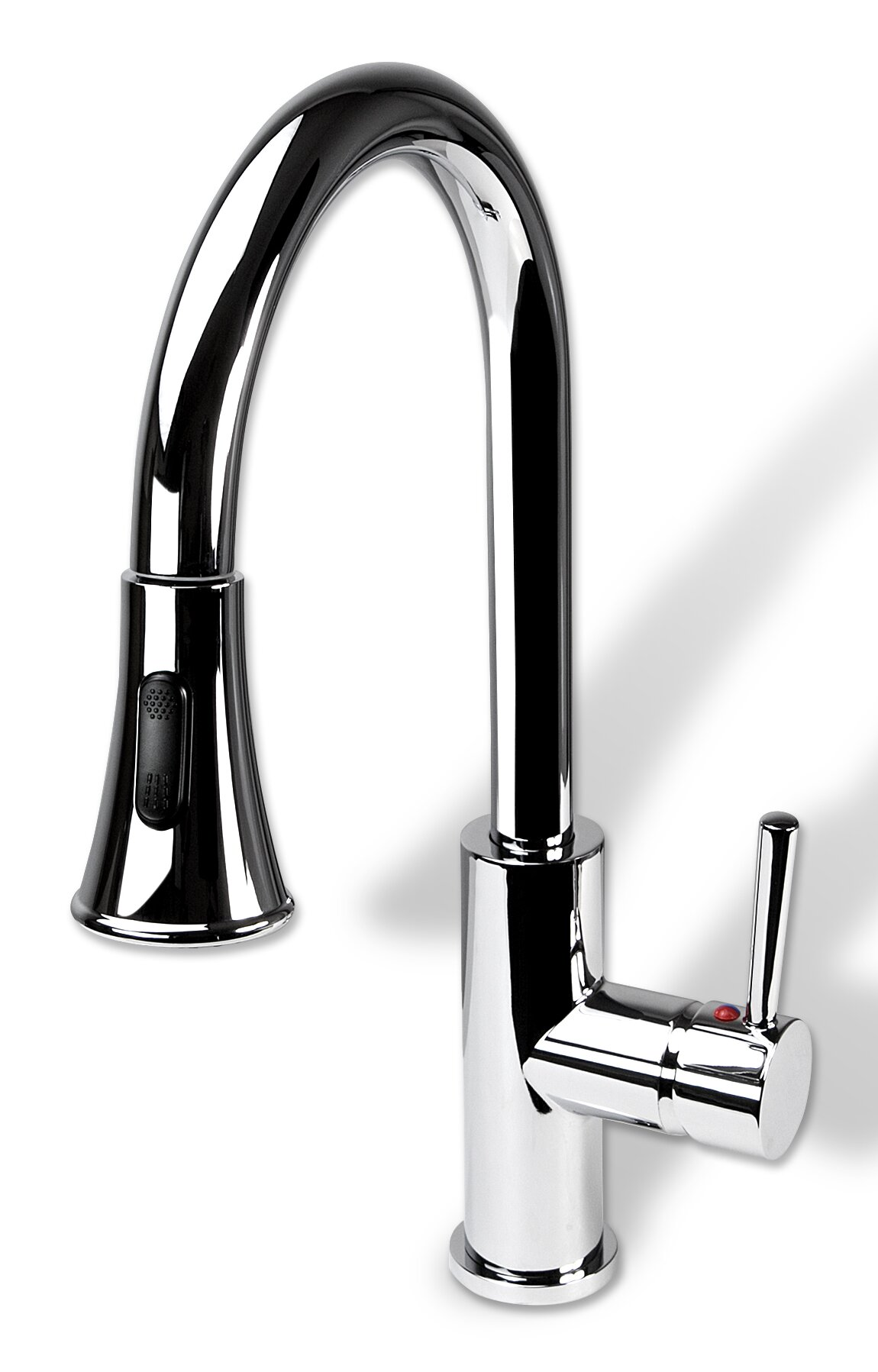 Luxier Pull Down Single Handle Kitchen Faucet & Reviews