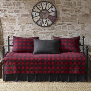 Buffalo Check 100 Cotton 5 Piece Daybed Set