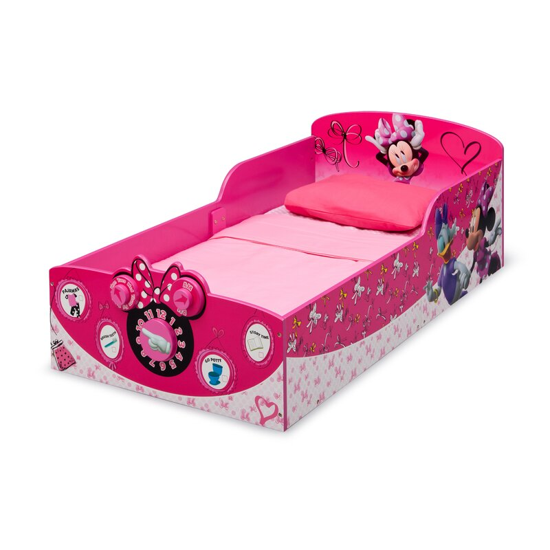Delta Children Minnie Mouse Convertible Toddler Bed Reviews Wayfair