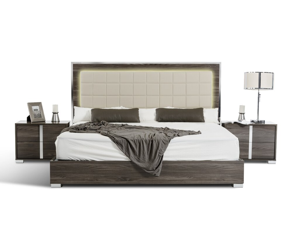 Wayfair Upholstered Bed Home Wayfair Upholstered Bed King: Orren Ellis Demaria California King Upholstered Platform