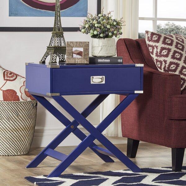 Mercury Row Marotta 1 Drawer End Table Amp Reviews Wayfair Ca