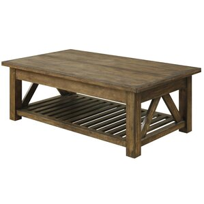 Bluffstone Coffee Table with Lift Top by Loon Peak