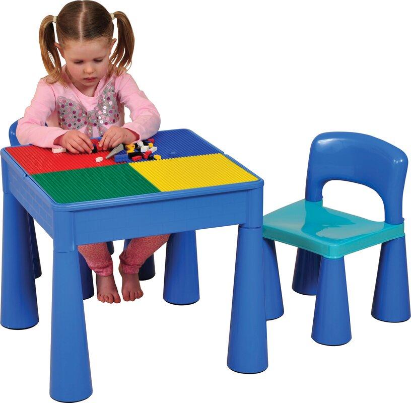 just kids 3 tlg kinder tisch und stuhl set versatile. Black Bedroom Furniture Sets. Home Design Ideas