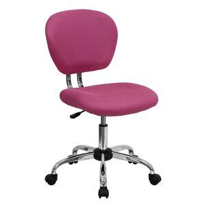 pink office desk. baxley mesh desk chair pink office