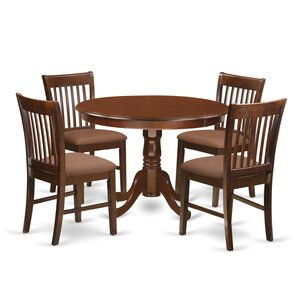 Hartland 5 Piece Dining Table by East West Furniture