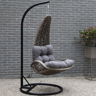 Lazaro Hanging Basket Chair With Cushion