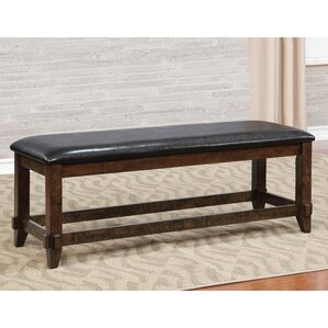 electra upholstered dining bench