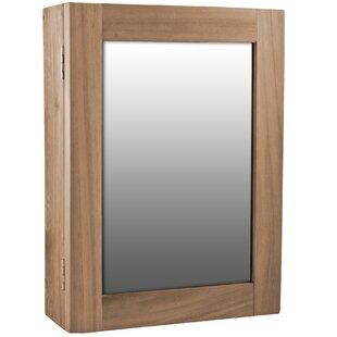 Dark Wood Medicine Cabinet | Wayfair