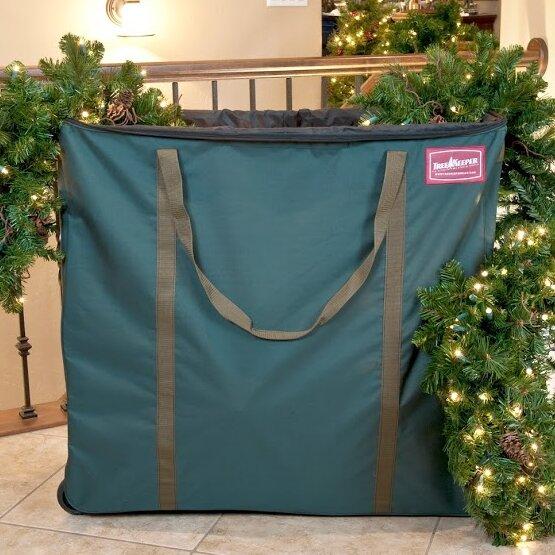 TreeKeeper Premium Christmas Village And Decor Multi Use Rolling Storage Bag  U0026 Reviews   Wayfair