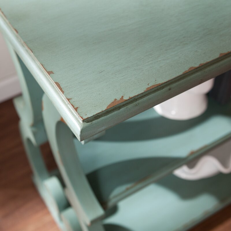 Barkley Console Table: One Allium Way Lariviere Scroll Console Table & Reviews