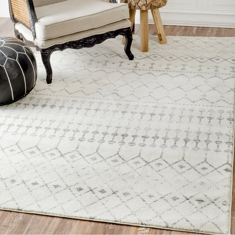 Clair Gray Ivory Area Rug