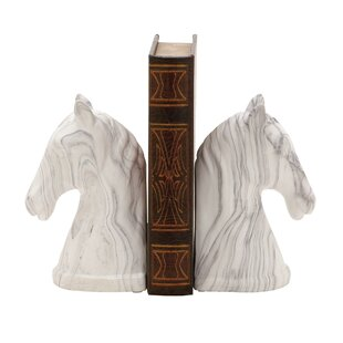 Equestrian Bust Book Ends (Set Of 2)