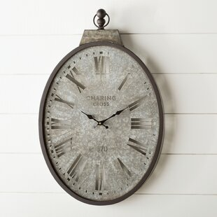 Stapleton Pocket Watch Wall Clock