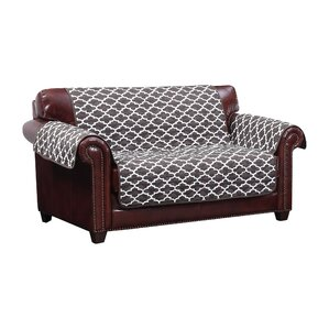 Reversible Water Resistent Box Cushion Loveseat Slipcover by Winston Porter