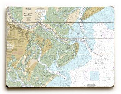 Longshore Tides Ga Savannah River And Wassaw Sound Ga