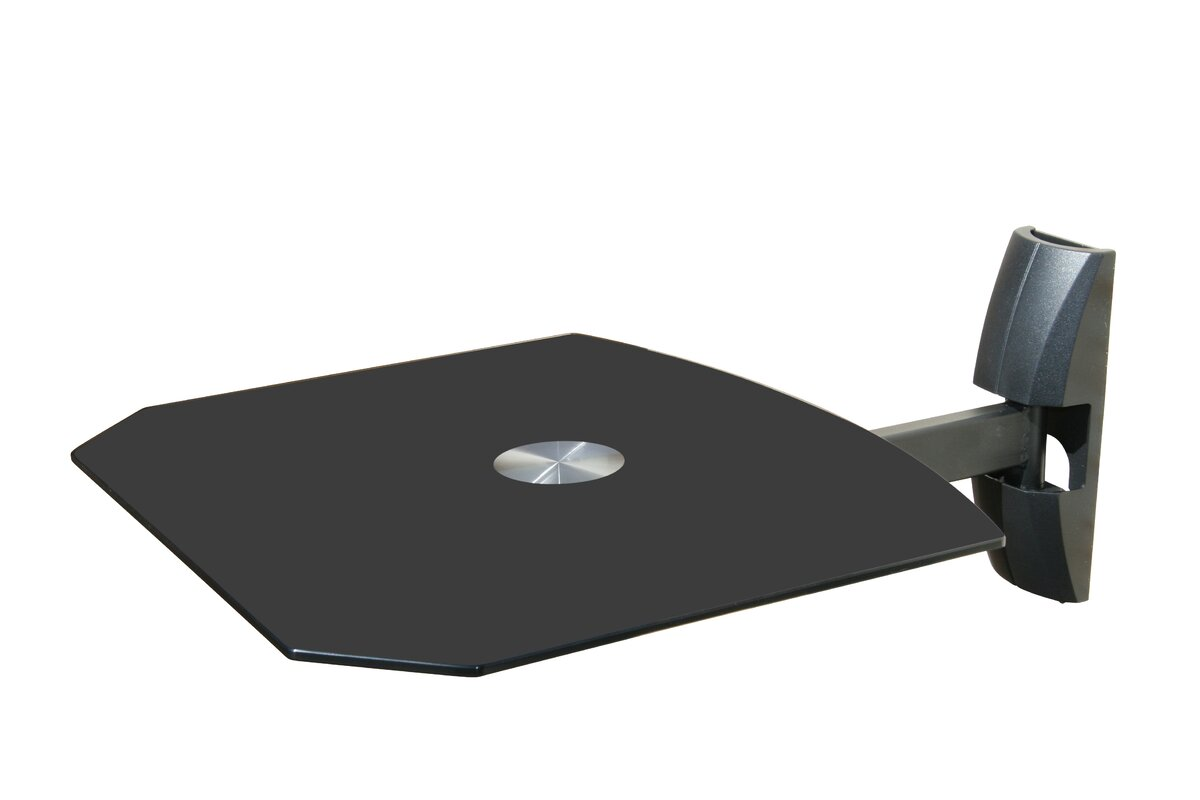 mount tv to a ehow floating how foter for from the cable wall components box shelf explore hide