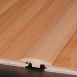 """0.25"""" x 2"""" x 78"""" Hickory T-Molding in Pecan"""