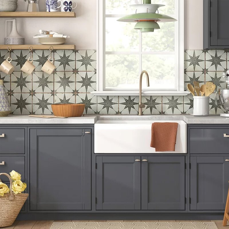 Amazing Cape 30 L X 18 W Farmhouse Kitchen Sink With Sink Grid Download Free Architecture Designs Scobabritishbridgeorg