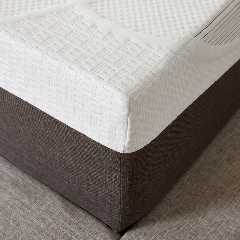 alwyn home 10 firm gel memory foam mattress reviews. Black Bedroom Furniture Sets. Home Design Ideas