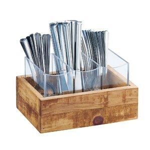 madera 3 section flatware organizer - Silverware Holder