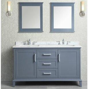 Double Vanity With Quartz Top Wayfair