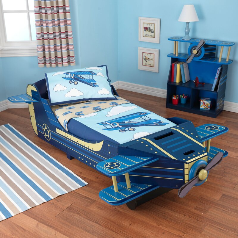 KidKraft Airplane Toddler Bed Reviews