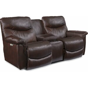 James Time Power Reclining Loveseat by La-Z-Boy