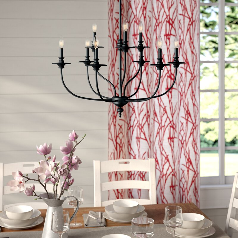 Wayfair Dining Room Lighting: Laurel Foundry Modern Farmhouse Giverny 9-Light Candle