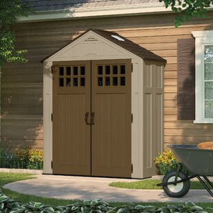 10x12 Plastic Shed | Wayfair