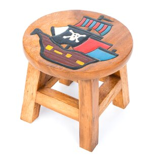 Pirate Ship Children's Stool by Just Kids
