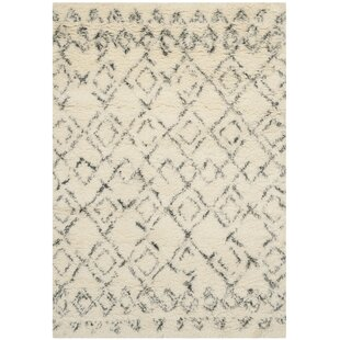 Addy Hand Tufted White/Grey Rug by Laurel Foundry