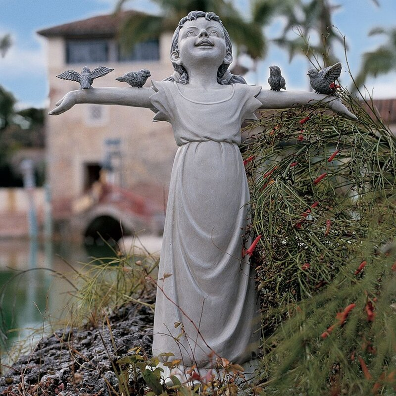 Wayfair Garden Statues: Design Toscano Basking In God's Glory Statue & Reviews