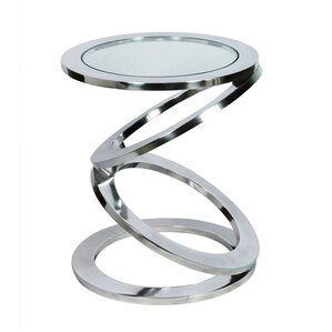 disc end table
