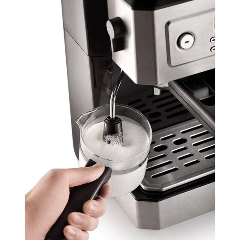 4b4d2181038b DeLonghi Combination Coffee & Espresso Maker & Reviews | Wayfair