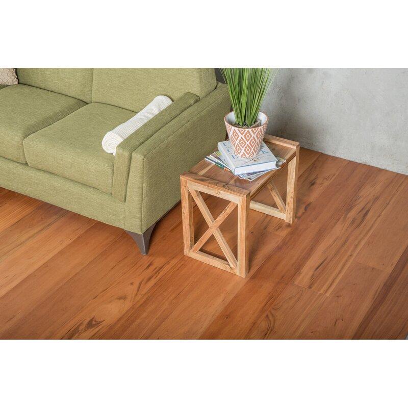 Gohaus Exotic 7 12 Engineered Tigerwood Hardwood Flooring In