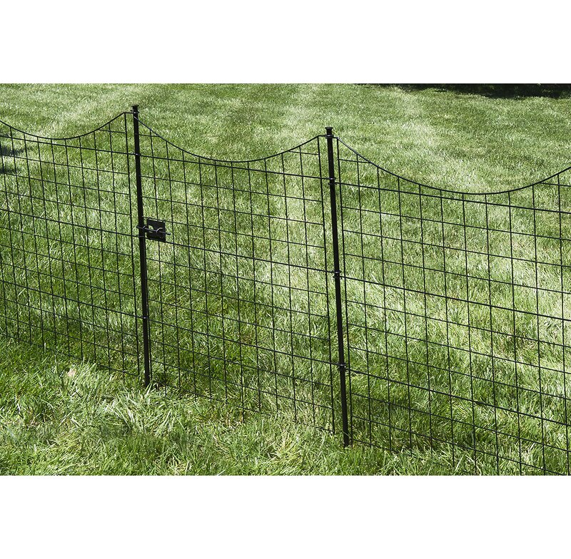 W Zippity Garden Fence Gate